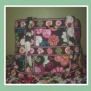 Vera Bradley medium tote purse